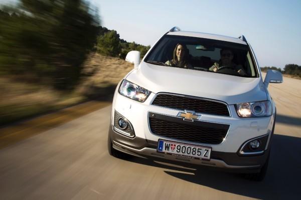 Probefahrt + Preisvorteil Chevrolet Captiva